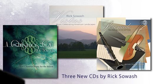 Two New CDS by Rick Sowash